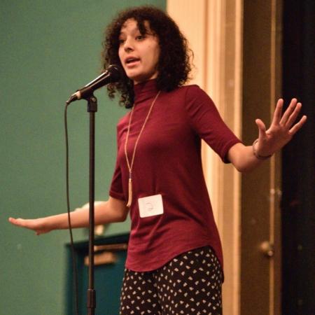 Maggie Borgen MLF 2017 Poetry Slam winner